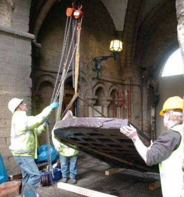 Historic Cathedral Gate Returned