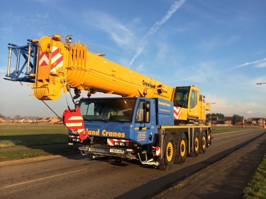 UK's First Tadano ATF100G-4 arrives at Crowland