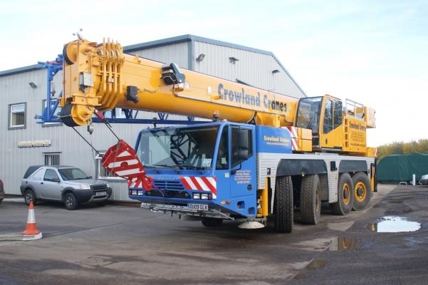 Flagship Crane arrives at Bury depot